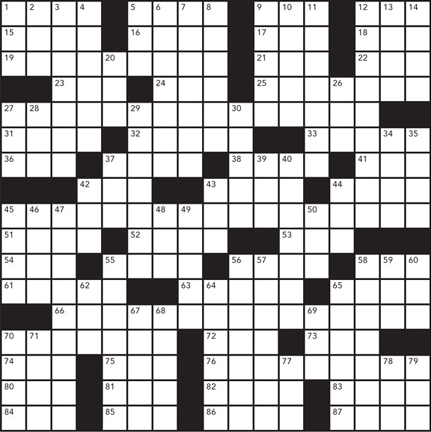 Margaret Wise Brown crossword puzzle