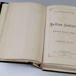 "The opening pages of the  ""Catalogue of Hollins Institute."""