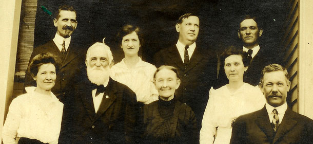 Virginia and Samuel Murrill with their children