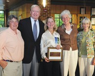 Mary K. Shaughnessy '72 wins Distinguished Alumnae Award