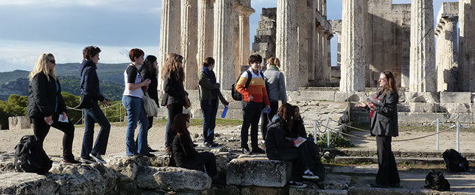 Hollins JTerm in Greece