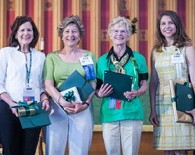 Distinguished alumnae award recipients