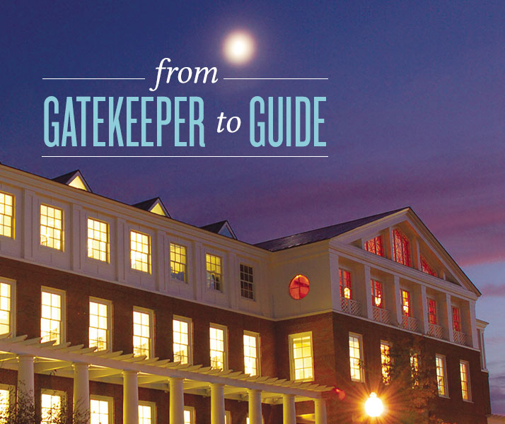 From Gatekeeper to Guide