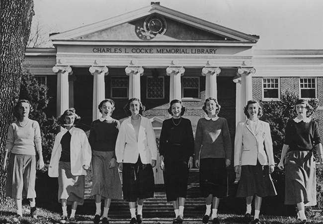 Students, late 1940s
