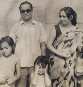 Pareena Lawrence family