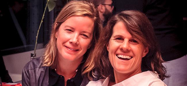 Photo of two alumnae in Paris