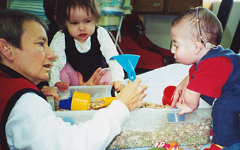 Photo of feeding therapy techniques