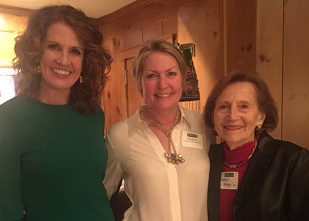Photo of group of alumnae at an Atlanta event