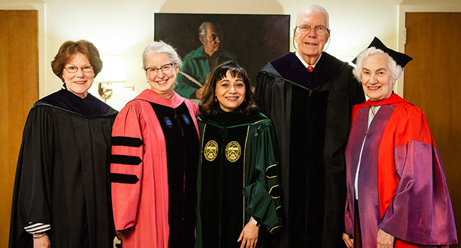 Photo of Past Presidents of Hollins