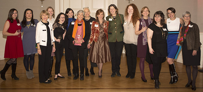 Photo of alumnae group in NYC