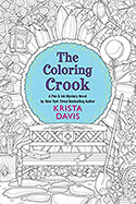 Book jacket for The Coloring Crook