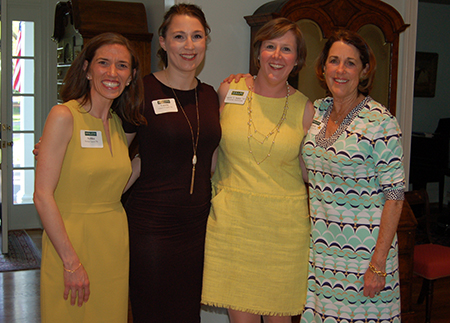 Photo of Hollins alumnae at Richmond event