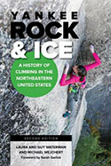 Book jacket for Yankee Rock & Ice
