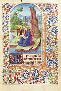 Photo of rare manuscript