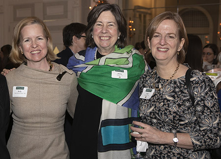 Photo of alumnae at event in NYC
