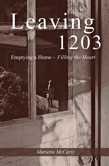 Book jacket for Leaving 1203