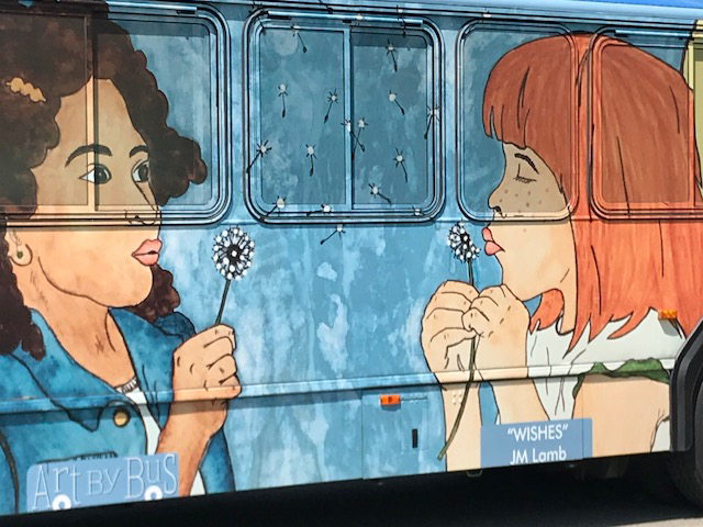 Art by Bus project