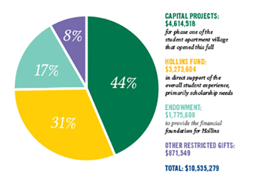 Capital projects chart