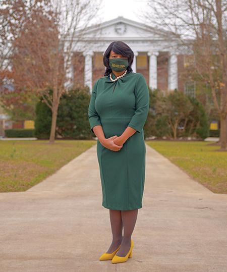 President Mary Dana Hinton