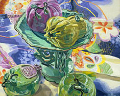 Janet Fish, Celia Beaux's Fruit