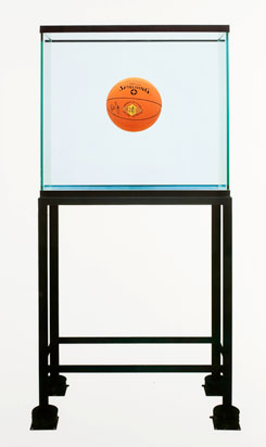 Jeff Koons, One Ball Total Equilibrium Tank