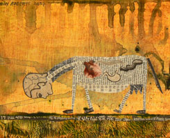 Holly Roberts, Man Grazing