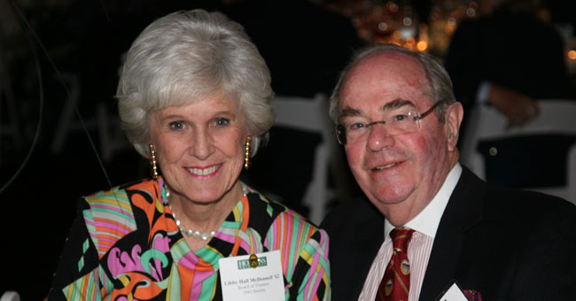 Elizabeth Hall McDonnell '62 and James S. McDonnell III