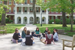 Class on Front Quad