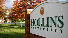 Hollins Receives 'Unprecedented and Extraordinary' Challenge to Raise $10 Million