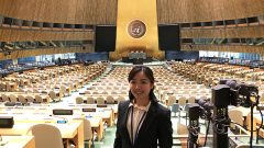 Rosie Wong '22 Embraces Grass-Roots Activism During Peace Boat US Internship