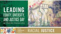 """Hollins To Hold Inaugural """"Leading Equity, Diversity, and Justice Day"""" October 23"""
