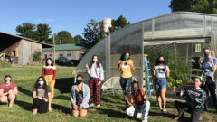 Hollins' Community Garden Opens To Students For The First Time Since March