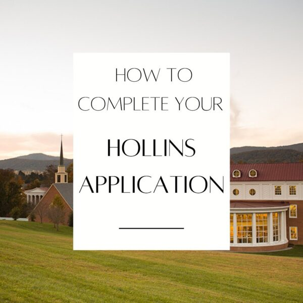 How to complete your application