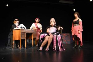 The Revolutionists theatre production