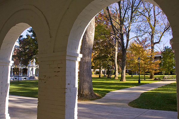 Arches on Front Quad