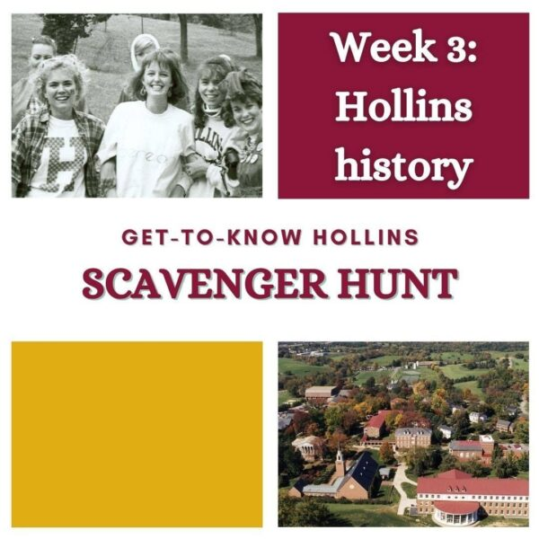 Week 3 of the library scavenger hunt