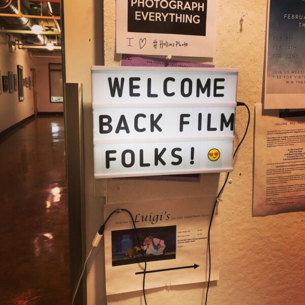 Welcome film students