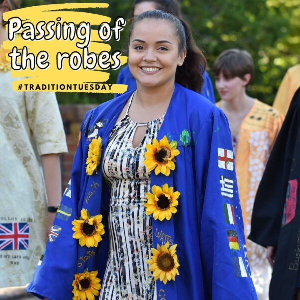 Passing of the Robes