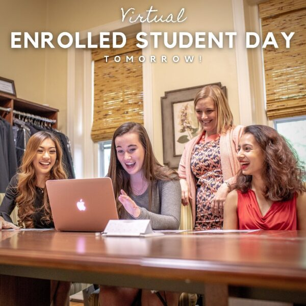Virtual enrolled student day